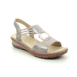 Ara Comfortable Sandals - Beige - 27234/76 HAWAII ROUND