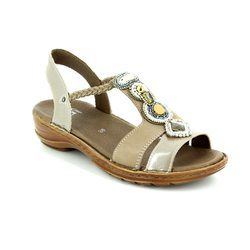 Ara Sandals - Taupe multi - 37275/65 HAWAIIBEADS