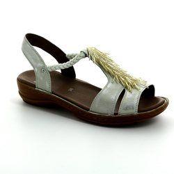 Ara Comfortable Sandals - Oyster Pearl - 37270/06 HAWAIIFUR
