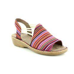 Ara Comfortable Sandals - Multi Coloured - 57283/83 KORSIKA 81