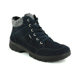 Ara Boots - Outdoor & Walking - Navy suede - 49344/66 SAAS FEE GORE