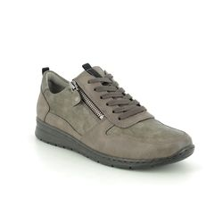 Ara Comfort Lacing Shoes - Taupe - 62422/12 SAPPORO WIDE FIT