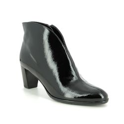 Ara Ankle Boots - Black patent - 43408/69 TOULOUSE