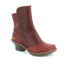 Art Boots - Ankle - Dark Red - 0667/60 ARTI TEX