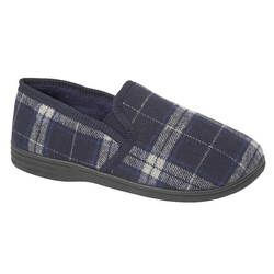Begg Exclusive Slippers & Mules - Navy - 8686/70 FIFE