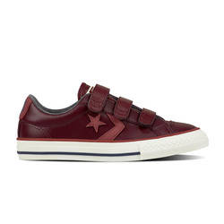 Converse Boys Trainers & Canvas - Dark Red - 658157C/626 STAR PLAYER VEL
