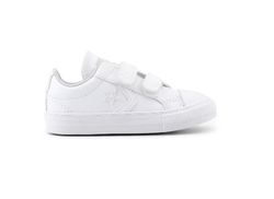 Converse Boys Trainers & Canvas - White - 751878C/100 STAR PLAYER INF
