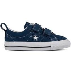 Converse Girls Trainers & Canvas - Navy multi - 756132C/410 ONESTAR VEL INF