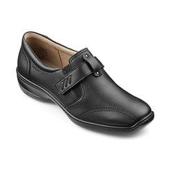 Hotter Everyday Shoes - Black - 7202/30 FRANCIS