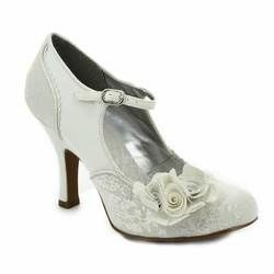 Ruby Shoo Heeled Shoes - Silver - 09102/60 EMILY