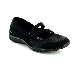 Skechers Trainers & Canvas - Black - 23005/017 LUCKY LADY