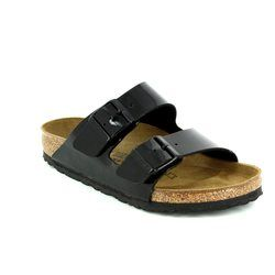 Birkenstock Sandals - Black patent - 005/291 ARIZONA