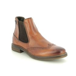 Bugatti Chelsea Boots - Tan Leather - 3113773A/6300 MARCELLO CHELS