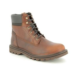 CAT Boots - Tan Leather - P721722/ DEPLETE WP