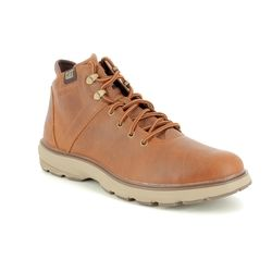 CAT Boots - Tan Leather  - P722924/ FACTOR WP