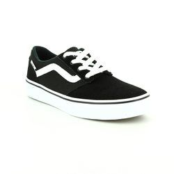 Vans Boys Trainers - Black - VA349SIJU/30 CHAPMAN STRIPE