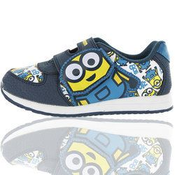 Character Bags & Shoes Boys Trainers - Blue multi - 0552/27 MINIONS OGDEN
