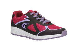 Clarks Girls Trainers - Pink multi - 0536/16F ADVEN GO JNR