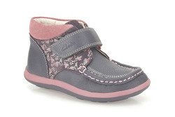 Clarks Girls Shoes - Grey - 0403/46F ALANA ERIN INF