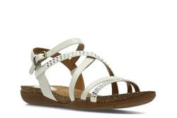 Clarks Sandals - White - 2380/04D AUTUMN PEACE