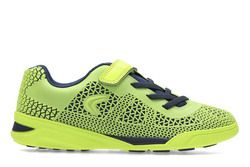 Clarks Boys Trainers & Canvas - Lime green - 2695/76F AWARD BLAZE JN