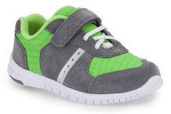 Clarks Boys Trainers & Canvas - Green multi - 5897/77G AZON FLEX FST