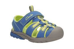 Clarks Sandals - Blue multi - 0859/26F BEACH TIDE INF