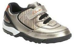 Clarks 1st Shoes & Prewalkers - Pewter - 5061/36F BOOTER FST
