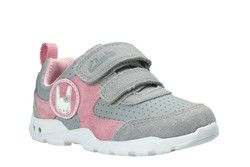 Clarks 1st Shoes & Prewalkers - Grey multi - 2593/96F BRITE WIZZ FST