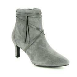 Clarks Boots - Ankle - Grey suede - 3636/94D CALLA ASTER