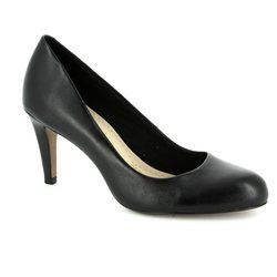 Clarks Heeled Shoes - Black - 1467/74D CARLITA COVE