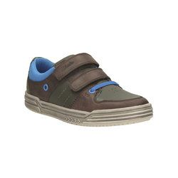Clarks Boys Shoes - Brown - 1260/37G CHAD SKATE INF