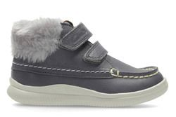 Clarks 1st Shoes & Prewalkers - Grey - 3012/87G CLOUD FLUFI FST
