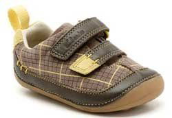 Clarks 1st Shoes & Prewalkers - Brown - 4942/56F CRUISER LAD