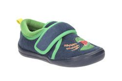 Clarks Slippers - Navy - 2115/67G CUBASTOMPO INF