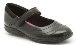 Clarks Girls Shoes - Black - 4981/47G DAISY DENA JNR