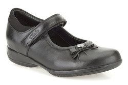 Clarks Girls Shoes - Black - 0080/85E DAISY GLEAM IN