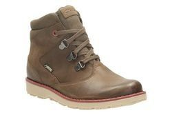 Clarks Boys Boots - Brown - 0991/46F DAY HI GTX JNR