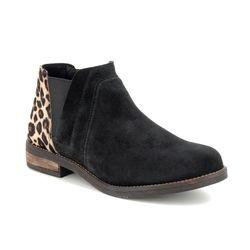 Clarks Chelsea Boots - Black suede - 462644D DEMI BEAT