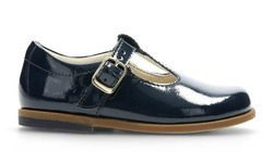 904bea04c52 Clarks Drew Shine G Fit Navy patent first shoes