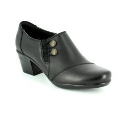 Clarks Heeled Shoes - Black - 2844/24D EMSLIE WARREN