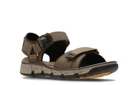 Clarks Sandals - Brown nubuck - 2464/37G EXPLORE PART