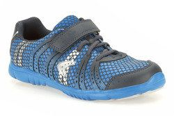 Clarks Boys Trainers - Blue - 5853/96F FREE TEMPO JNR