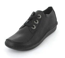 Clarks Comfort Lacing Shoes - Black - 0663/94D FUNNY DREAM