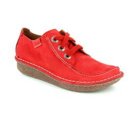 Clarks Everyday Shoes - Red - 1398/54D FUNNY DREAM