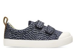 Clarks 1st Shoes & Prewalkers - Navy multi - 3413/87G HALCY HATI