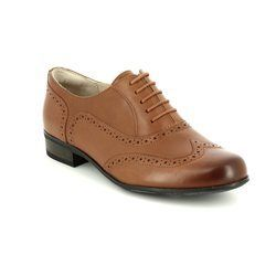 Clarks Brogues - Dark Tan - 5067/44D HAMBLE OAK