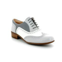 Clarks Brogues - Grey multi - 3246/44D HAMBLE OAK