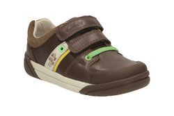 Clarks Boys Shoes - Brown - 1916/96F LILFOLKCUB PRE