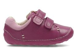 Clarks Girls 1st Shoes & Prewalkers - Pink - 2938/56F LITTLE HEN